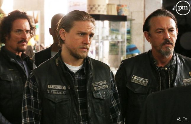 "Charlie Hunnam dans ""Sons of Anarchy"""