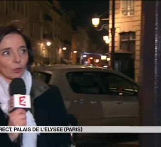 Maryse Burgot recadrée par l'Elysée en direct sur France...