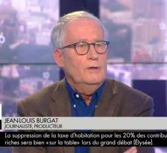 Jean-Louis Burgat dans 'L'heure des pros'.
