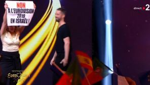 "Incident dans ""Destination Eurovision 2019"" : Des manifestants envahissent la scène en direct"