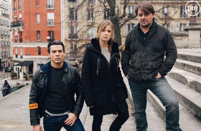 Tewfik Jallab (à gauche), Caroline Proust et Thierry Godard