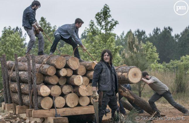 "Norman Reedus dans ""The Walking Dead"""
