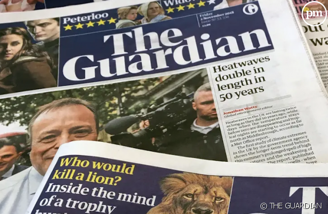 """Logo de """"The Guardian"""""""