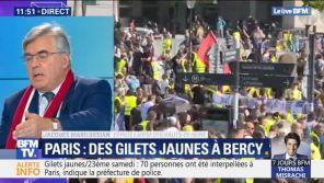 """Le député LREM Jacques Marilossian traite le Gilet jaune Jérôme Rodrigues de """"débile profond"""" sur BFMTV"""