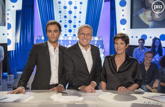 Charles Consigny, Laurent Ruquier et Christine Angot