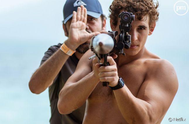 """Miguel Herran sur le tournage de la saison 3 de """"La Casa de Papel"""""""