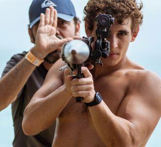 Miguel Herran sur le tournage de la saison 3 de 'La Casa...