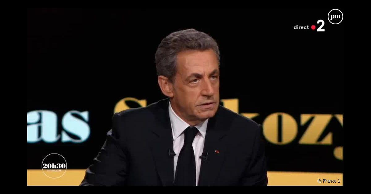 Une Question Destinee A Me Faire Perdre Le Tacle De Nicolas Sarkozy A France Televisions Devant Laurent Delahousse Puremedias