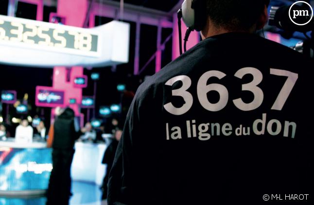 Le 3637 est la ligne dédiée pour les promesses de dons au Téléthon