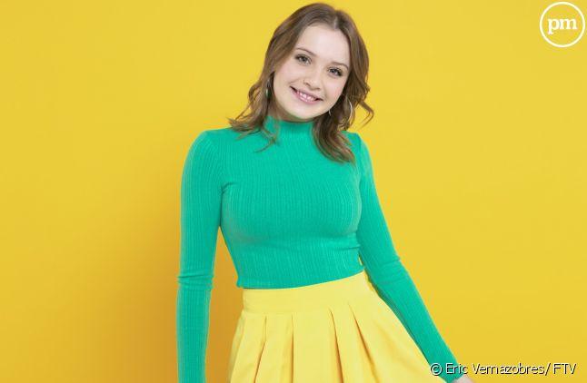 Carla représentante de la France à l'Eurovision Junior 2019