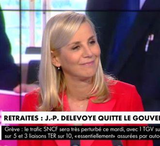 Laurence Ferrari sévère à l'égard de Jean-Paul Delevoye