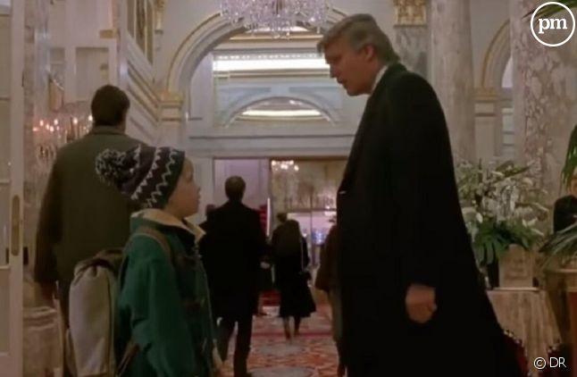 """Donald Trump dans """"Maman, j'ai encore raté l'avion"""""""