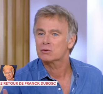 Anne-Elisabeth Lemoine recevait Franck Dubosc dans 'C à...