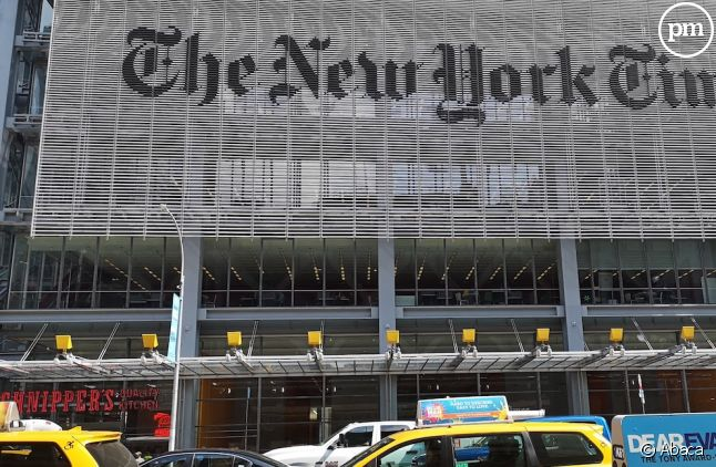 "Le siège du ""New York Times"" en 2019"
