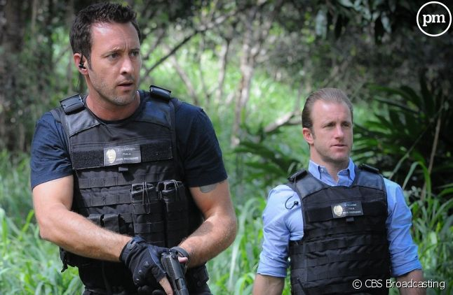 "Alex O'Loughlin et Scott Caan dans ""Hawaii 5-0"""
