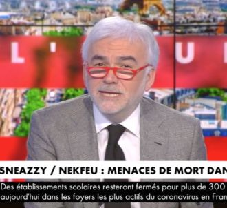 Pascal Praud réagit aux menaces de mort des rappeurs.