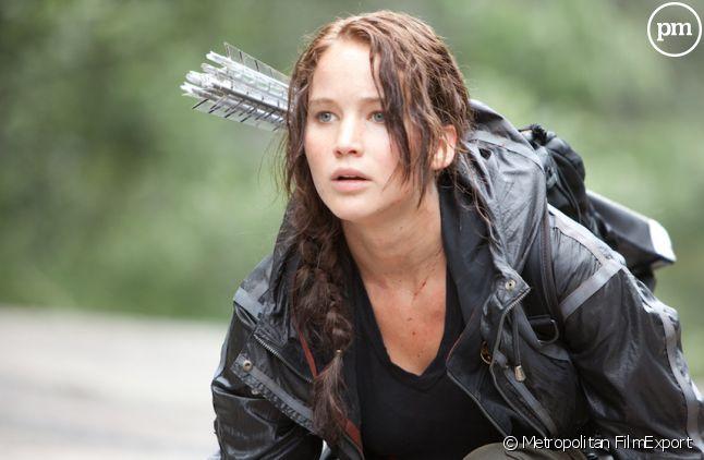 """Jennifer Lawrence dans """"Hunger Games"""""""