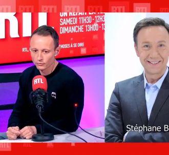 Stéphane Bern invité hier sur RTL.
