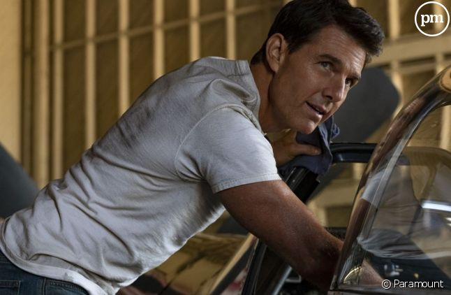 "Tom Cruise dans ""Top Gun : Maverick"""
