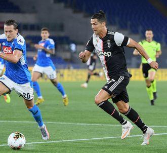 Cristiano Ronaldo, joueur de la Juventus de Turin.