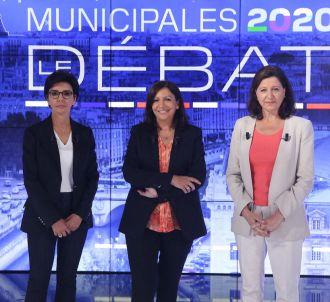 Rachida Dati, Anne Hidalgo et Agnès Buzyn sur le plateau...