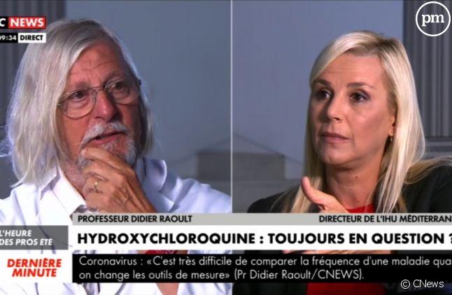 Didier Raoult face à Laurence Ferrari
