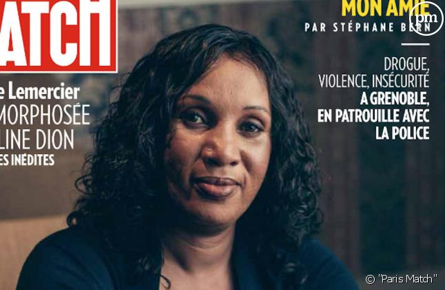 """Nafissatou Diallo en Une de """"Paris Match"""""""