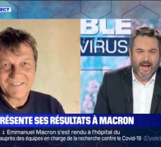 Propos polémiques sur BFMTV le 9 avril dernier.