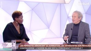 """28 minutes"" : Pascal Bruckner accuse Rokhaya Diallo d'avoir ""armé le bras des tueurs"" de ""Charlie Hebdo"""