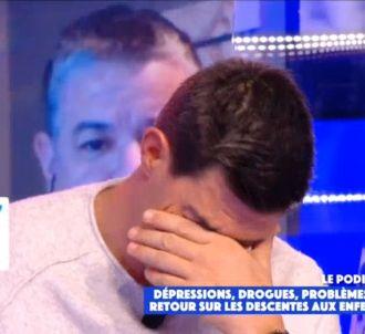 Jean-Pascal Lacoste s'effondre en larmes sur C8.