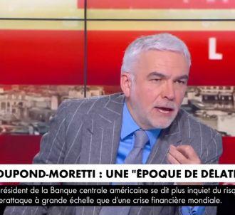 Pascal Praud prend la défense d'Alain Duhamel.