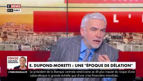 Repas clandestins : Pascal Praud défend Alain Duhamel critiqué par Jean Messiah