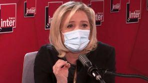"""Pour Marine Le Pen, Eric Zemmour se comporte comme """"un candidat à la présidentielle"""""""