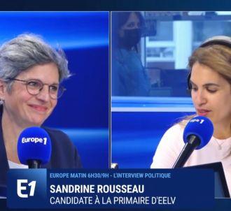 Tensions entre Sonia Mabrouk et Sandrine Rousseau sur...