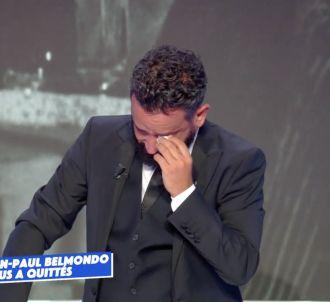 Cyril Hanouna fond en larmes sur C8
