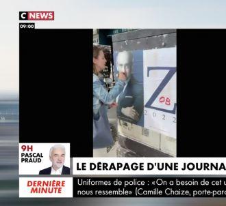 <p>Moustache de Hitler sur Eric Zemmour : Pascal Praud...