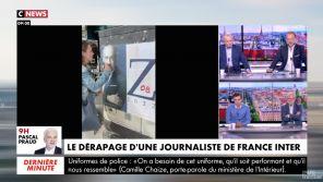 """Zemmour grimé en Hitler : Pascal Praud dénonce la blague """"antisémite"""" de Charline Vanhoenacker"""