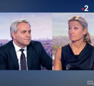 Anne-Sophie Lapix refroidit Xavier Bertrand en direct sur...