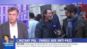 """""""Collabos"""", """"Allez vous faire foutre""""... : Paul Larrouturou diffuse sur LCI les insultes reçues des """"anti-passe"""""""