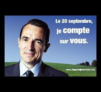 Albert Dupontel est le 'Président'.