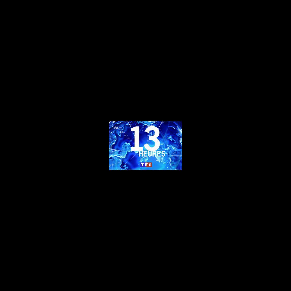 Le Logo Du 13h De Tf1 Photo Puremedias