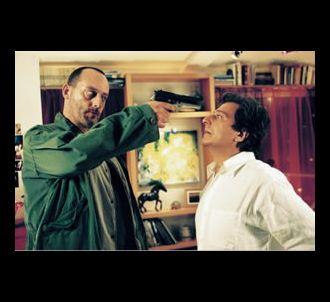 Jean Reno et Christian Clavier dans 'L'Enquête corse'.