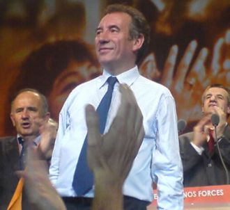 Meeting de François Bayrou à Pau (20 avril 2007)