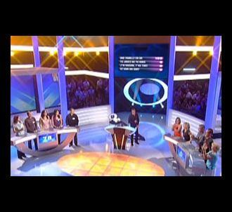 Le plateau d''Une famille en or' sur TF1