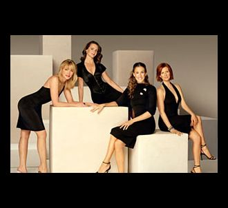 Kim Cattrall, Kristin Davis, Sarah Jessica Parker et...