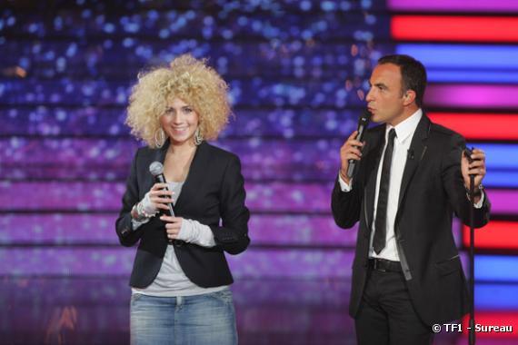 Maureen et Nikos Aliagas à la Star Academy 7. - photo