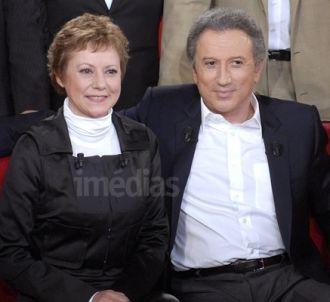 Dorothée et Michel Drucker