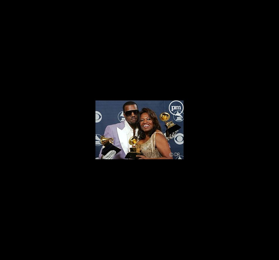 Kanye West et sa mère, Donda West