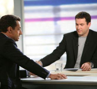 Nicolas Sarkozy, interrogé sur le plateau de 'La...