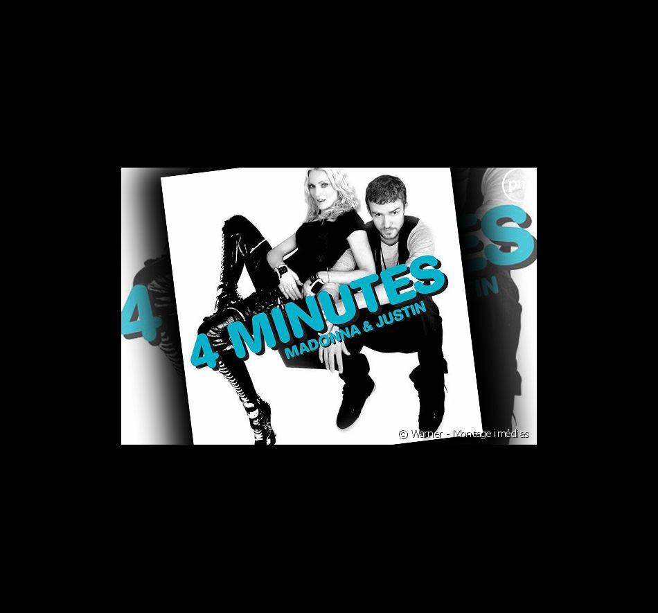 """""""4 minutes"""", le premier single extrait de """"Hard Candy"""", le nouvel album de Madonna."""